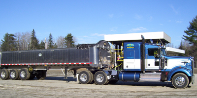 Tri-axle dump truck Service in Vermont and New Hampshire.